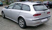 La 156 in versione Sportwagon