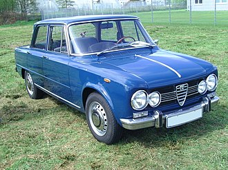 Alfa Romeo Giulia - Alfa Romeo Giulia Super