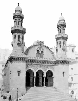 Ketchaoua Mosque - St. Philippe Cathedral, 1905