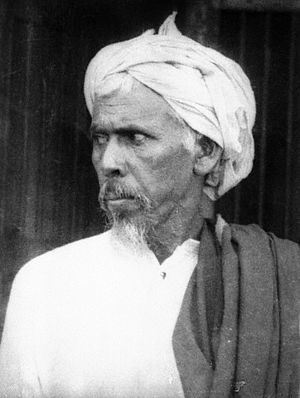 Malabar rebellion - Ali Musliyar, one of the principal leaders of the uprising