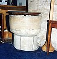 All Saints Wittering - Font (geograph 2218210).jpg