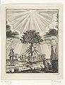 Allegorie op de meerderjarigheid van Willem V, 1766, RP-P-OB-84.617.jpg