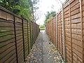 Alleyway between Beaufort Road and Bidbury Schools - geograph.org.uk - 624883.jpg