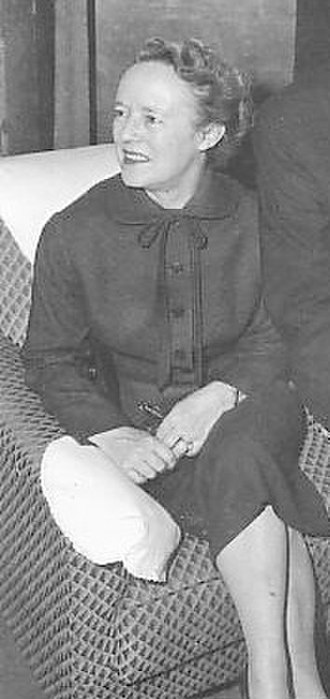 Alma Reville - Reville in November 1955