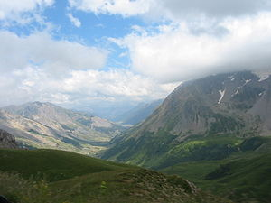 Oldest Dryas - Alpine valley, like Oldest Dryas