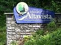 Altavista, Virginia town sign.JPG