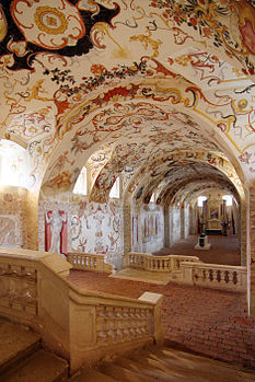 "14: The so-called ""crypt"" at Altenburg abbey, AustriaAuthor: C. Cossa"
