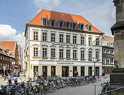 Alter Steinweg in Münster