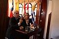 Alto representante de MERCOSUR, Samuel Pinheiro Guimaraes, visita sede de UNASUR (6347696262).jpg