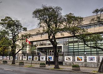 Embassy of Canada to Poland - Image: Ambasada Kanady w Warszawie