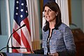 Ambassador Haley Delivers Remarks to the Press on the UN Human Rights Council (42190265814).jpg