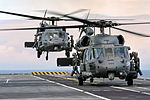 American AH60 Helicopters Land on HMS Illustrious MOD 45153919.jpg