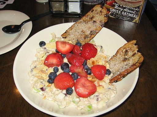 American healthy breakfast