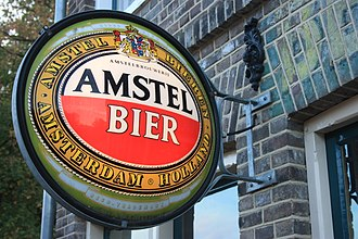 Amstel Brewery - Amstel Bier sign, Arnhem Open Air Museum