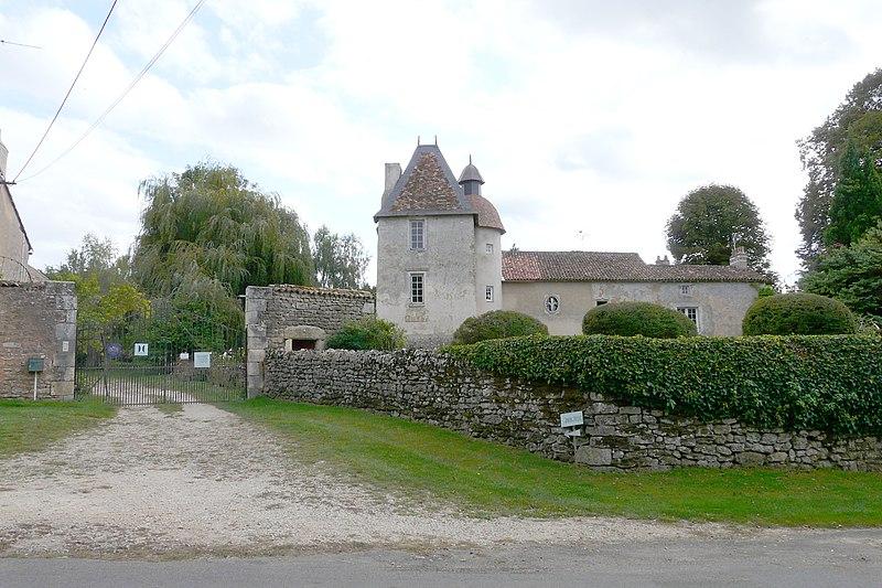 Le prieuré de Laverée à Aslonne