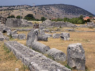 Montenegro - Ancient Roman city Doclea.