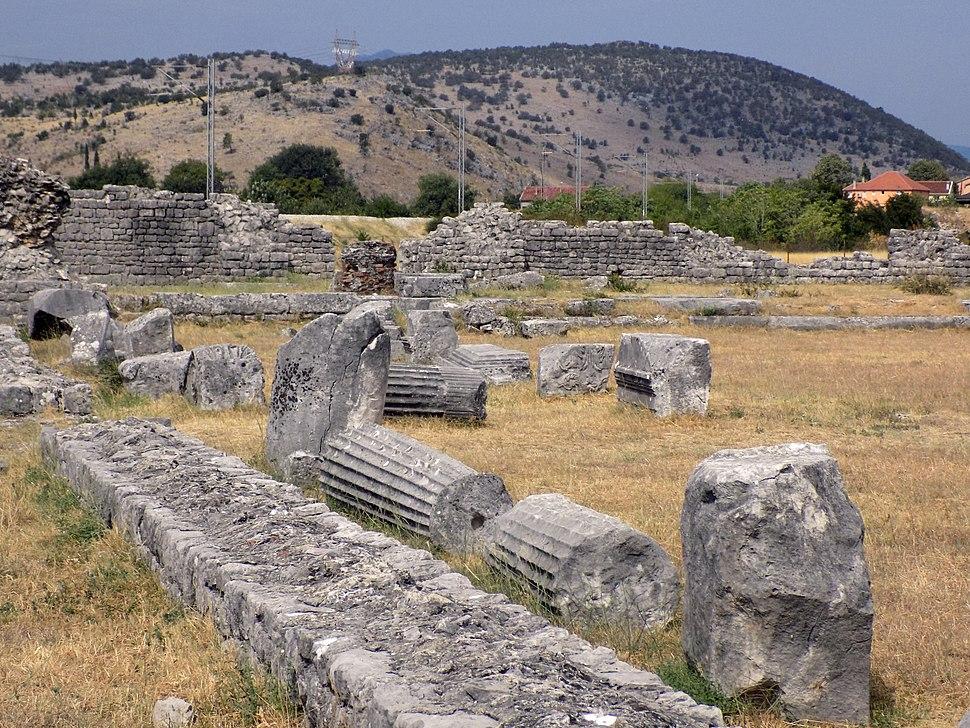 Ancient city Doclea - ruins 02