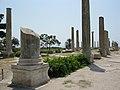 Ancient columns at Al Mina excavation site, Tyre, Lebanon.jpg