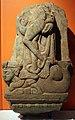 Andhra pradesh, yakshi su una bestia mitologica, II secolo ac-II dc ca.jpg