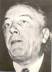 portrait d'André Breton
