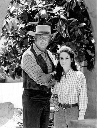 Lancer (TV series) - Andrew Duggan and Elizabeth Baur, 1968