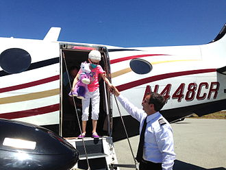Angel Flight - Sometimes the road to recovery is a runway