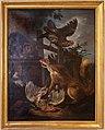 Angelo maria crivelli detto il crivellone, volpe e gatto tra volatili, 1690-1700 ca.JPG