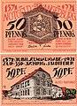 Angerburg (Węgorzewo) - 50Pf., 1921.jpg