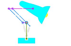 Artikolamp-stila lampo