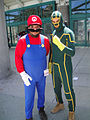 Anime Expo 2011 - Mario and Kick-Ass.jpg