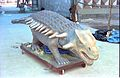 Ankylosaurus - Dinosaurs Alive Exhibition - Science City - Calcutta 1995-June 181.JPG