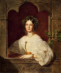 Portrait of Olga Naryshkina née Potocka.
