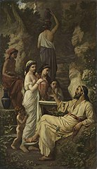 Hafez at the well