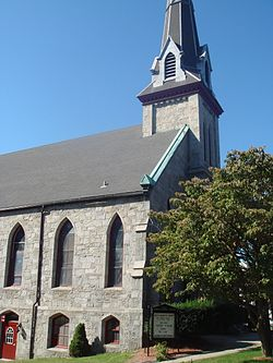Ansonia - First Congregrational Church.JPG