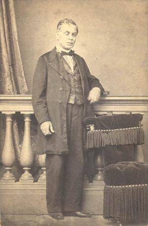 António Feliciano de Castilho - Image: António Feliciano de Castilho com 50 anos