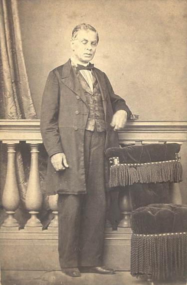 António Feliciano de Castilho com 50 anos