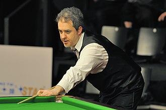 Anthony Hamilton (snooker player) - Hamilton at 2014 German Masters