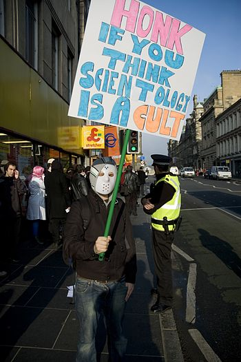 Anti-Scientology Protest