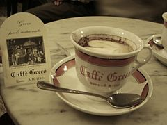Un tavolino del Caffè