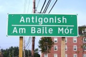 Canadian Gaelic - Antigonish, Nova Scotia