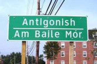 Canadian Gaelic - Antigonish, Nova Scotia