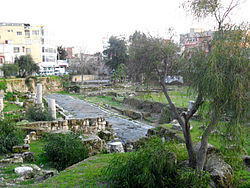 Ancient road in Tarsus