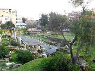 Tarsus, Mersin - Ancient Roman road in Tarsus