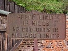 Speed limit - Wikipedia