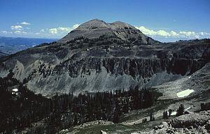 Antler Peak - Image: Antler Peak YNP1964