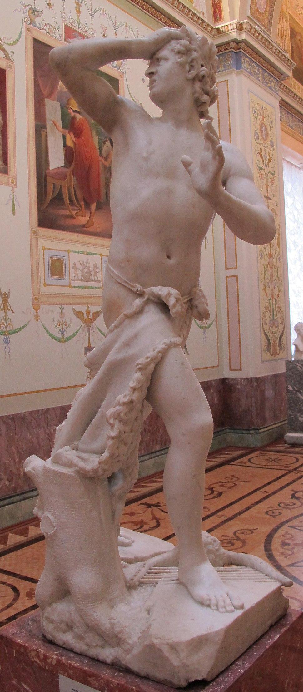 Antonio canova, orfeo, 1777, 01