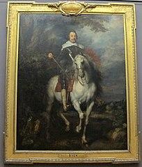 Portrait équestre de Francisco de Moncada