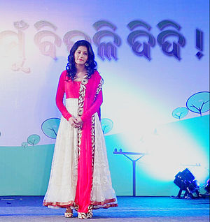 "Anu Choudhury - Anu Choudhury during launch ceremony of ""Bijuli Didi"""