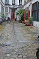 Apartment courtyard after shower, 137 Rue du temple, Paris 2.jpg