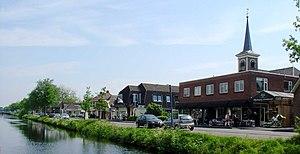 Appelscha - Appelscha along the Opsterlandse Compagnonsvaart